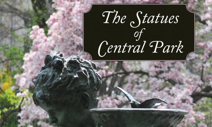 "The cover of ""The Statues of Central Park."""