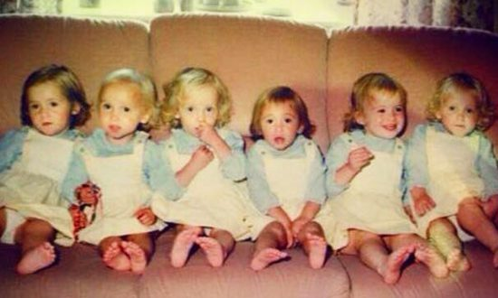 World's First All-Girl Sextuplets Were Born in 1983, Here's How They Look Now