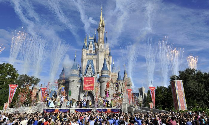 Walt Disney World Resort December 6, 2012 in Lake Buena Vista, Florida. (Gene Duncan/Disney Parks via Getty Images)