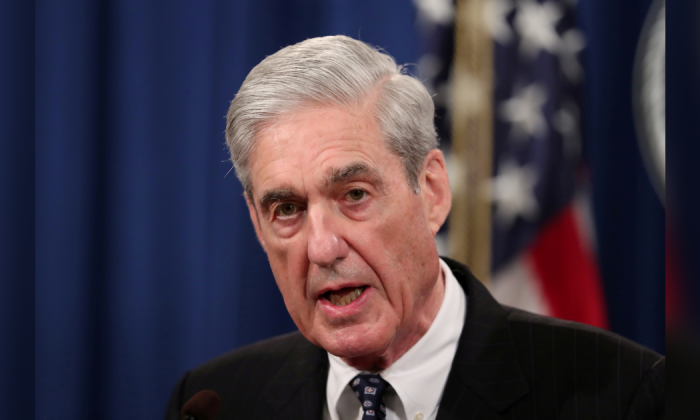 Robert Mueller in Washington, on May 29, 2019. (Reuters/Jim Bourg)