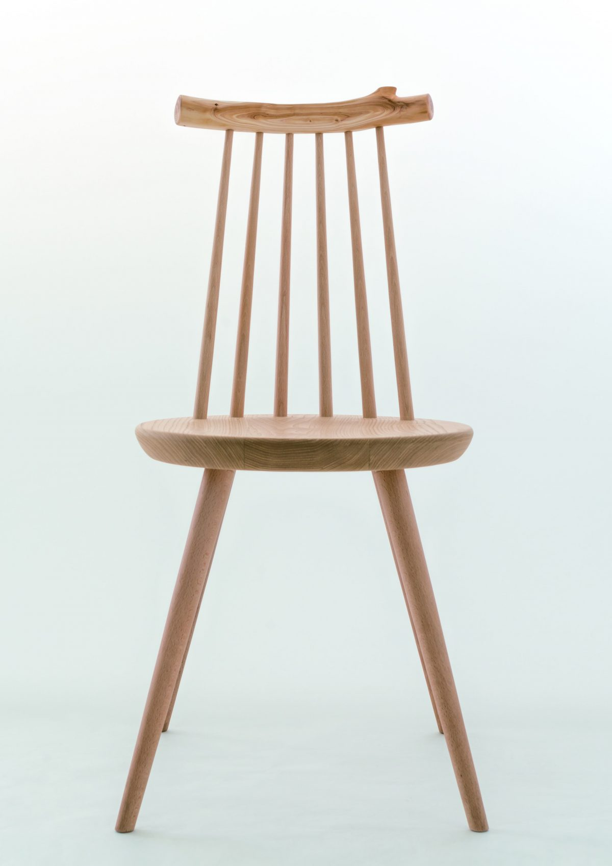 The Kinoe chair, designed by Ibuki Kaiyama