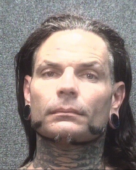 Jeff Hardy mugshot