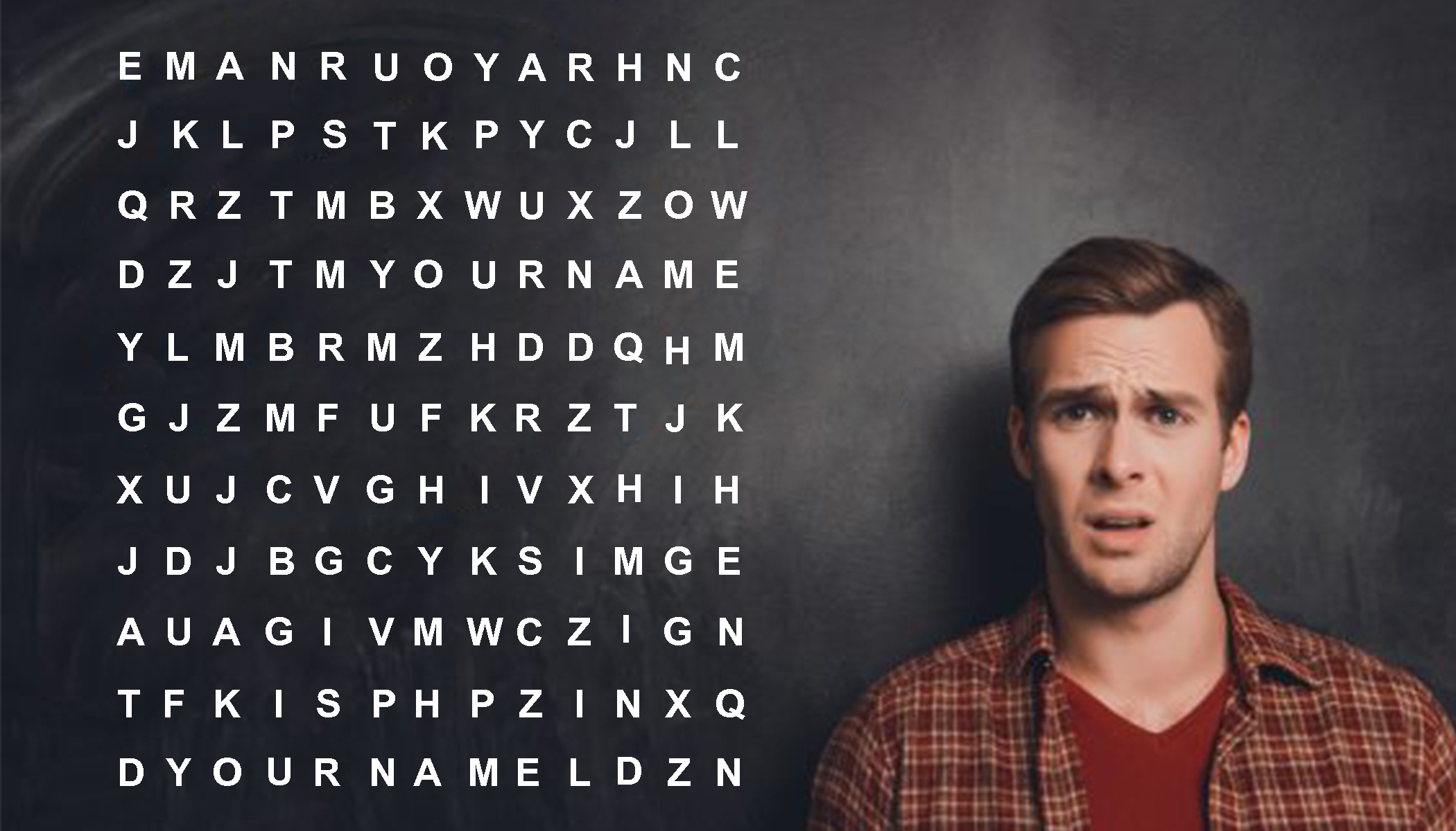 You're a Genius If You Can See Your Name in This Puzzle–and This One Has the Internet Stumped