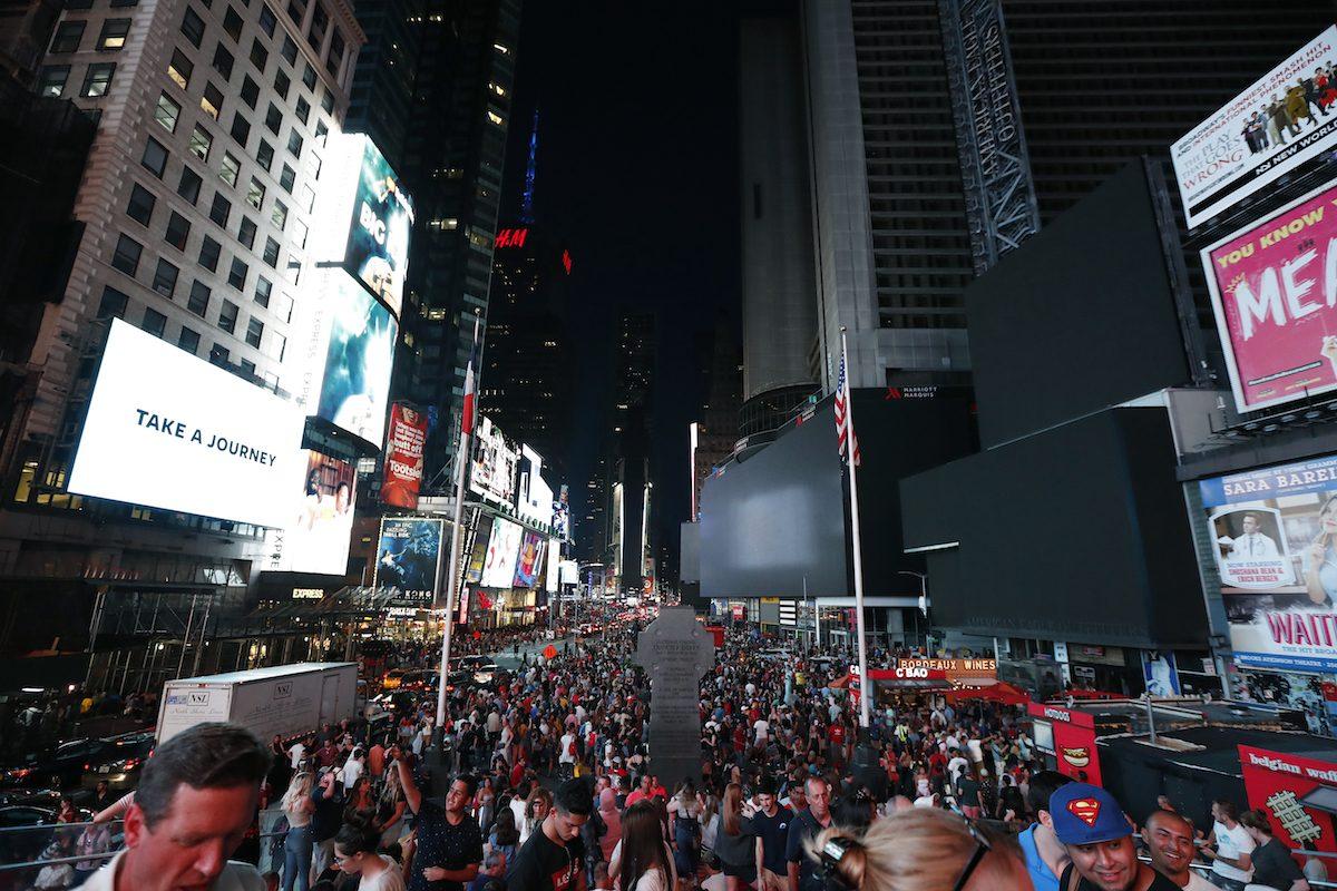 APTOPIX New York Power Outage
