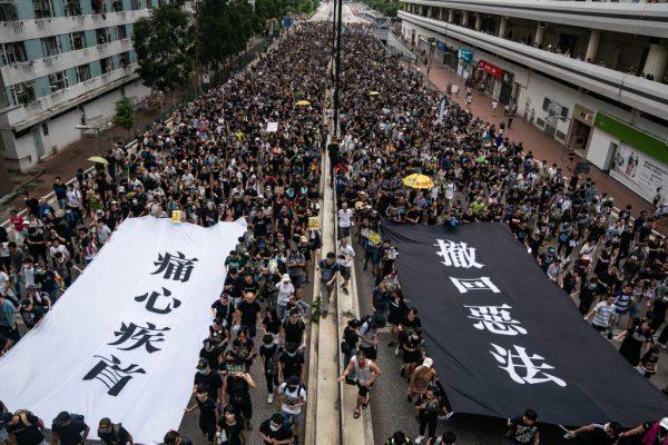 Sha Tin protests Hong Kong