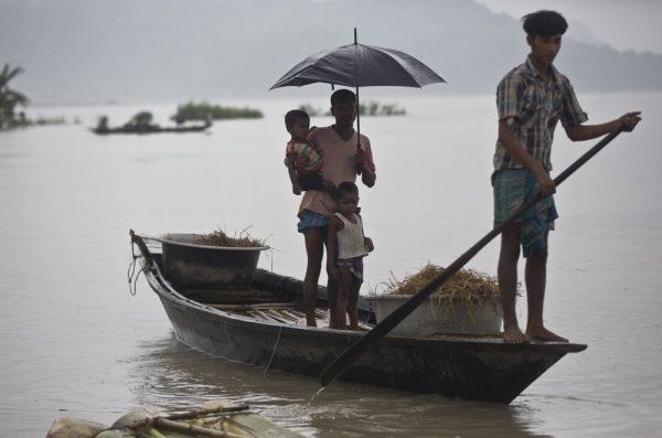 Nepal, India Floods 2
