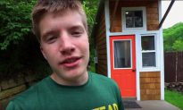 Teen Builds Own House for $1,500. See What's Inside His 89 Sq Ft Architectural Gem