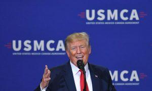 Trump Calls on Congress to Stop 'Playing Around,' Pass USMCA