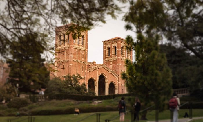 The iconic Royce Hall building is pictured on the campus of the University of California, Los Angeles. (ACasualPenguin/Pixabay)