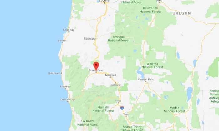Grants Pass, Oregon. (Screenshot/Google Maps)