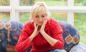 High Social Stress Associated With Bone Loss in Postmenopausal Women