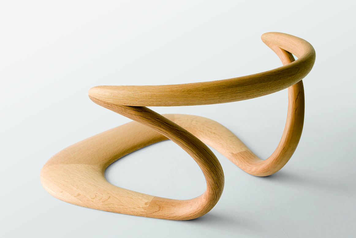 unique chair by Hida