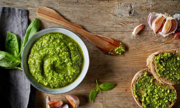 Classic basil pesto. (Shutterstock)