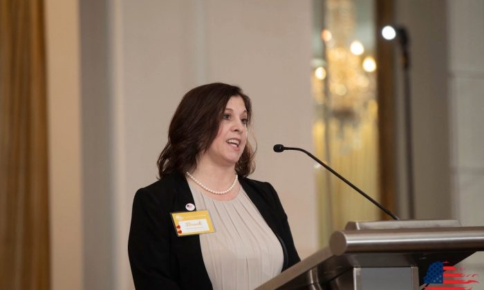 Brook Harless was named the 2019 mother of the year in Ohio by American Mothers, Inc. (Courtesy of Brook Harless
