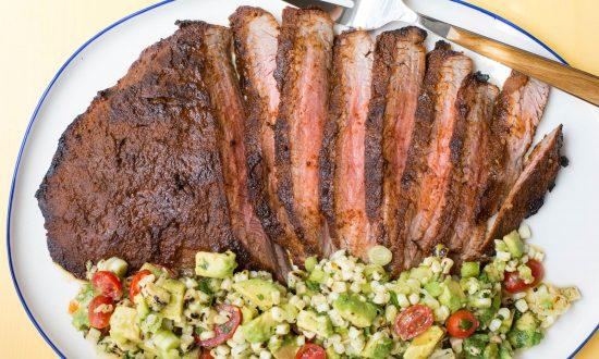 A Summery Steak Dinner