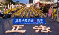 Candlelight Illuminates the Memory of Lives Lost in 20 Year Persecution in China