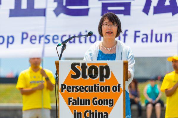 Falun Gong practitioner Dr. Yuhua Zhang