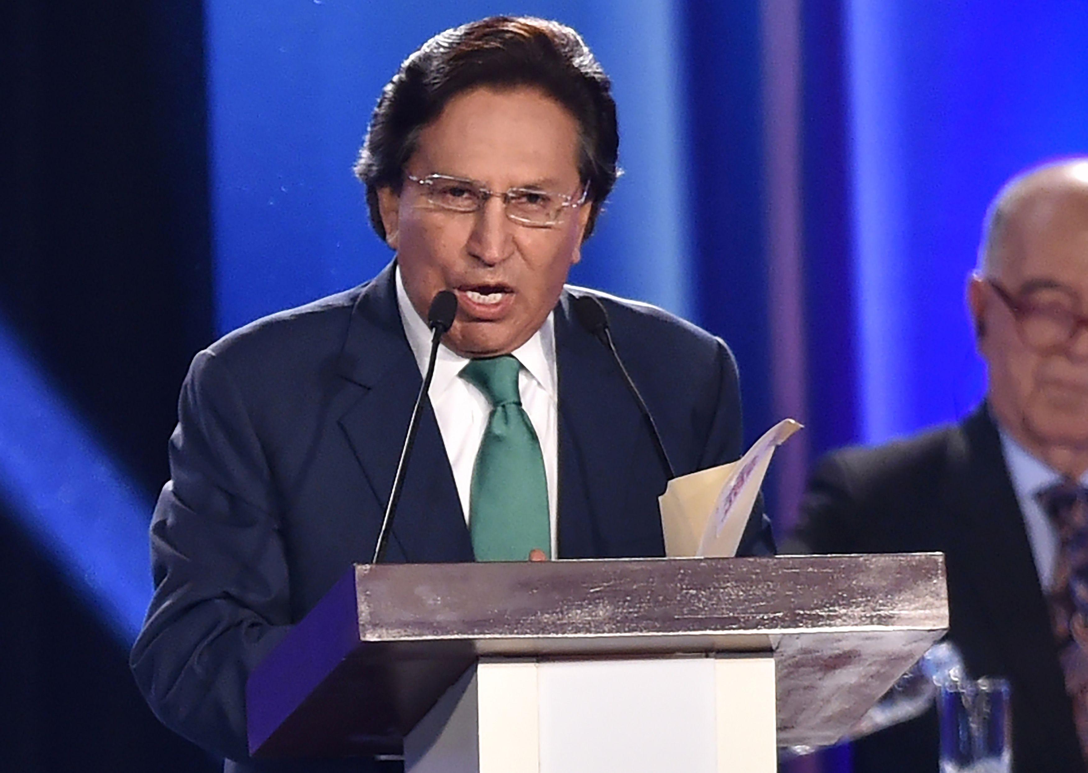Former Peruvian President Alejandro Toledo Arrested in US
