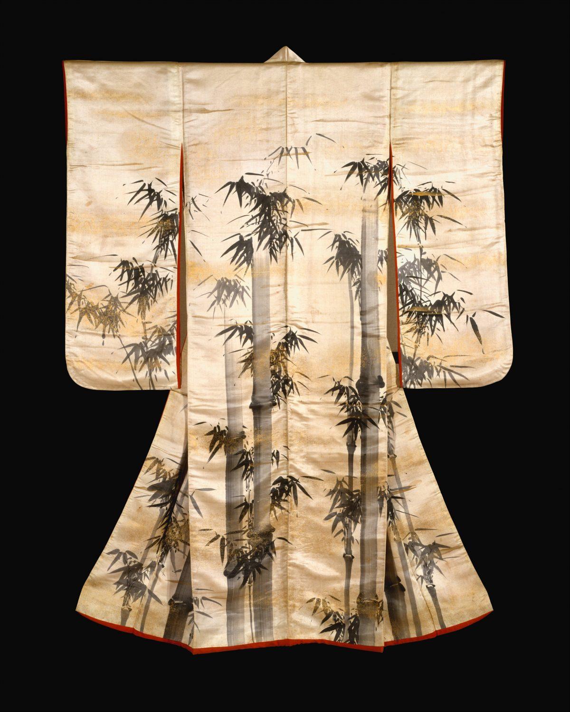 Overrobe (Uchikake) with Bamboo