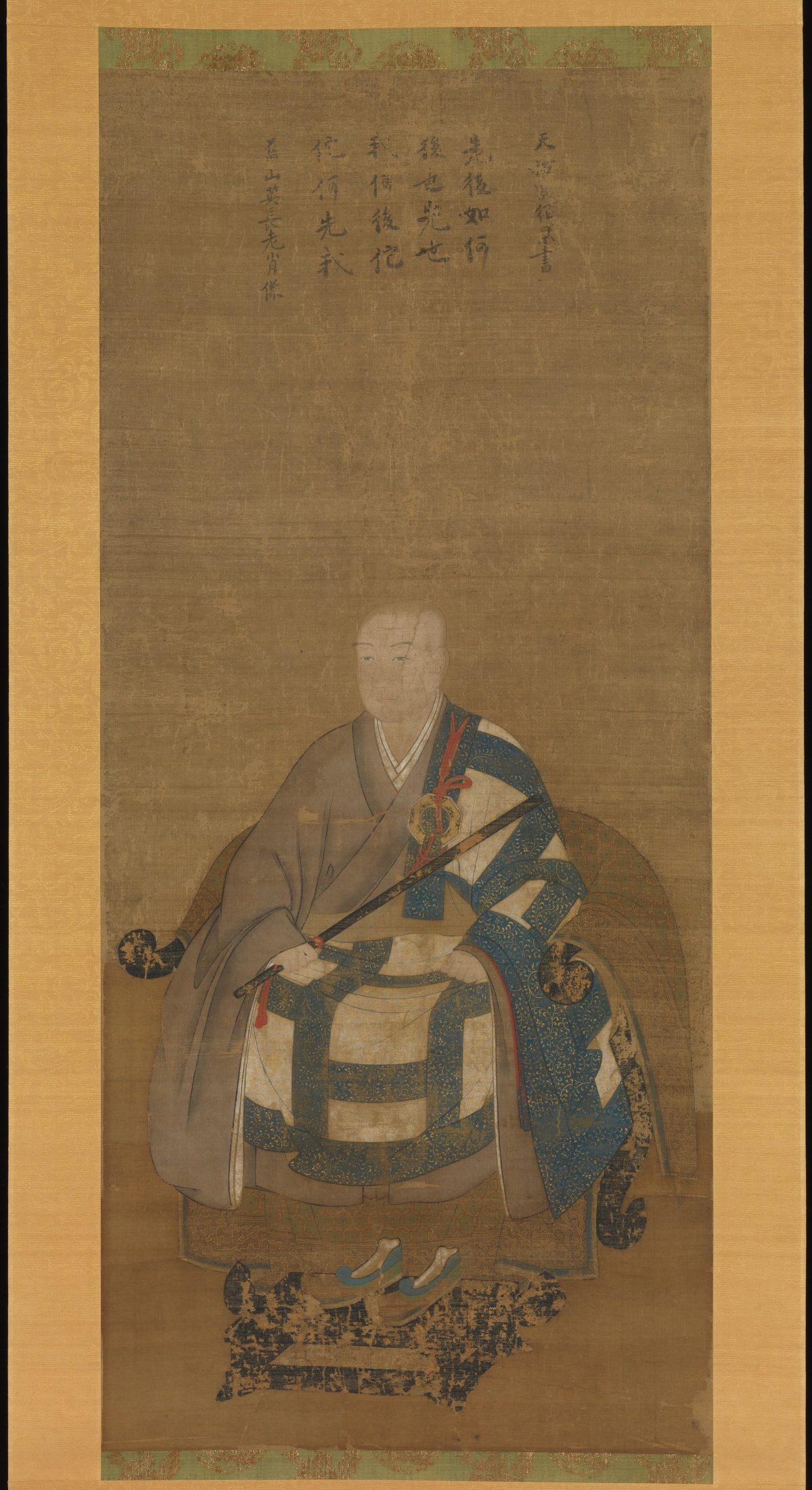 Portrait of Kyuzan Soei