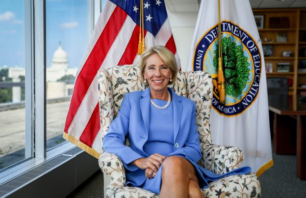 Fixing a Broken Education System & Giving Students More Choice: Department of Education Sec. Betsy DeVos