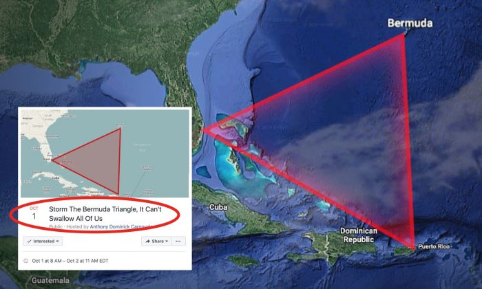 Viral Area 51 Raid Spawns Rival \'Storm Bermuda Triangle\' Event
