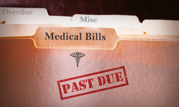 Churches are buying up medical debt for entire counties on its way to collection agencies and then forgiving it.(zimmytws/Shutterstock)