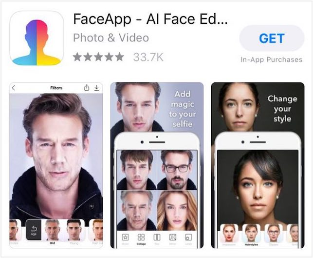 Russia-Based Mobile App FaceApp Raises Security Concerns Following 'faceappchallenge' Meme