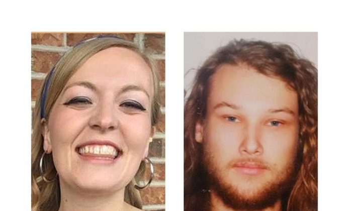 Lucas Robertson Fowler of Australia (right) and Chynna Deese, a U.S. woman, shown in these RCMP handout photos, were found dead along the Alaska Highway near Liard Hot Springs, south of the B.C. and Yukon boundary. (HO-RCMP/The Canadian Press)
