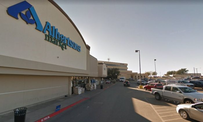 The 15-year-old boy, who was not named, was seen on surveillance camera footage at an Albertsons supermarket in Odessa, Texas. (Google Street View)