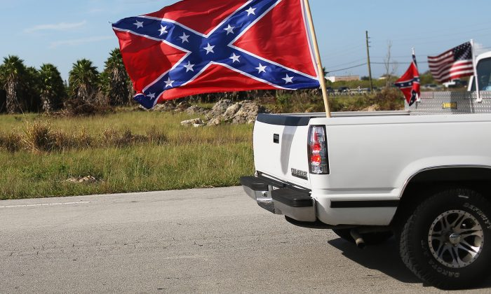 A Confederate flag in a file photograph.(Illustration - Getty Images)