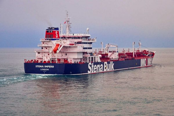 TheStenaImpero, a British-flagged vessel owned byStenaBulk