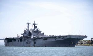 US Military Ship Passes Through Strategic Taiwan Strait Amid China Tension