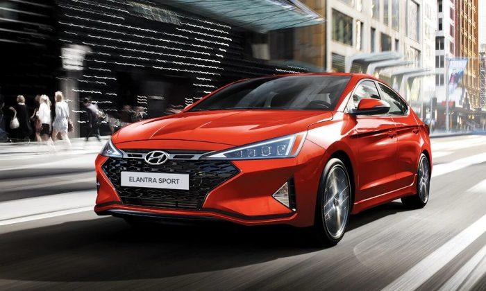 2019 Hyundai Elantra Sport. (Courtesy of Hyundai)