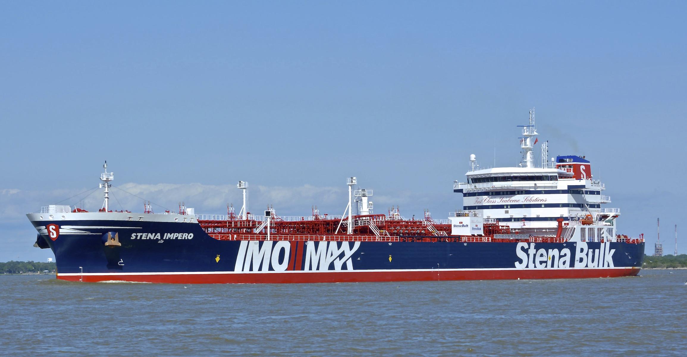 British oil tanker Stena Imperio