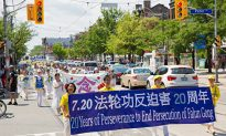 Downtown Toronto Flooded by Colour as Falun Gong Parade Commemorates 20 Years of Persecution