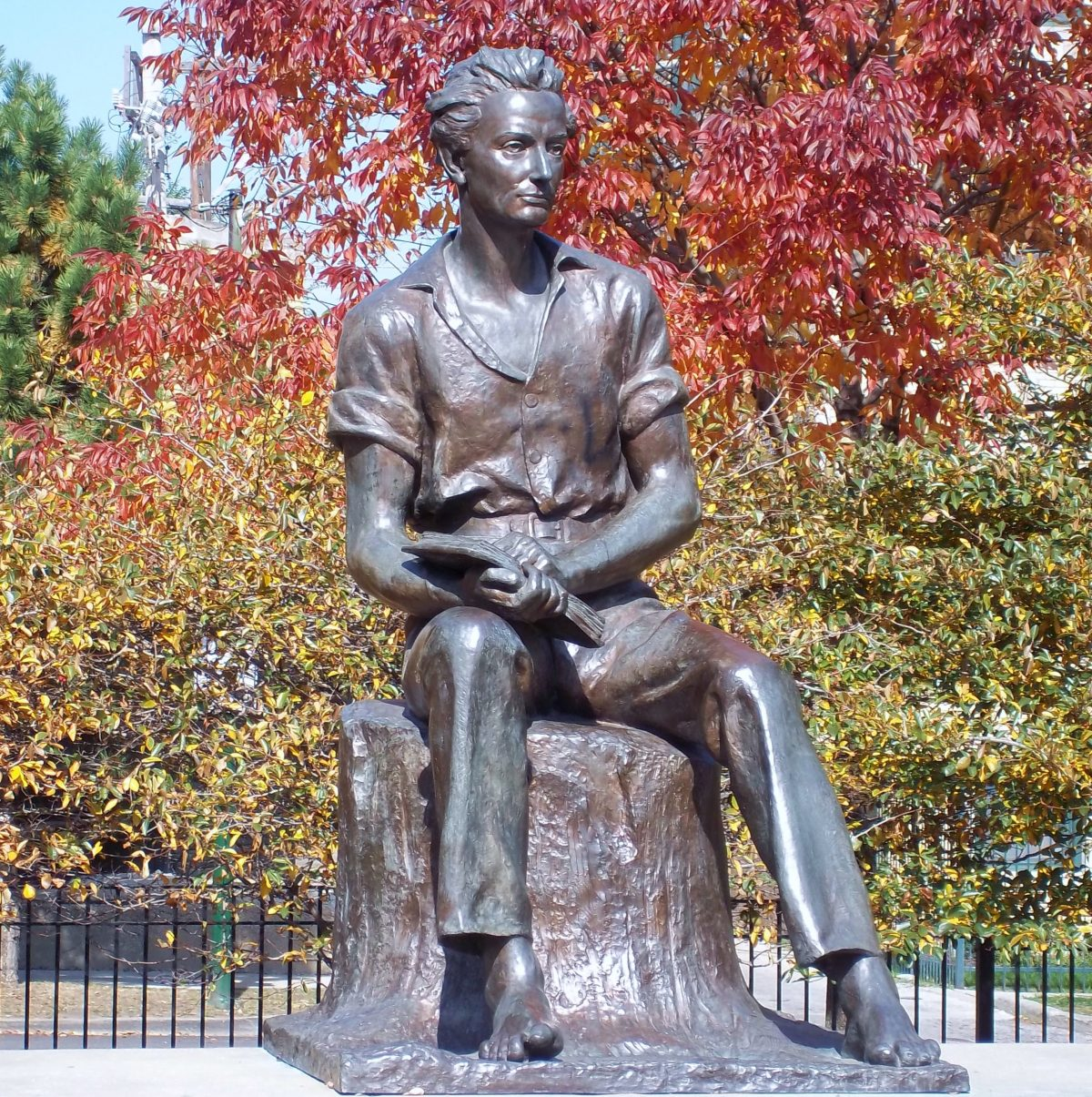 Statue of Young_Lincoln_By_Charles_Keck