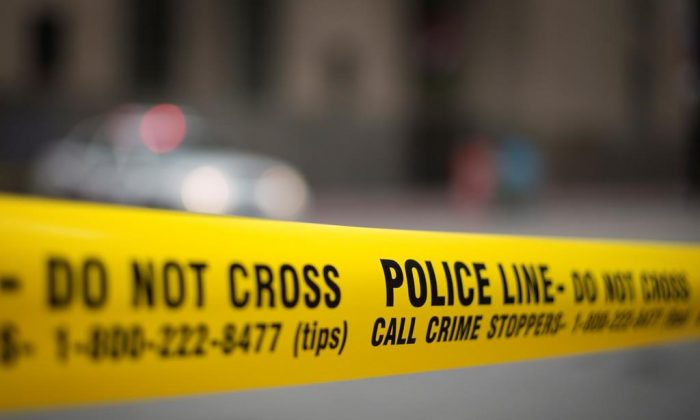 Police tape is shown in a stock photo. (Graeme Roy/The Canadian Press)