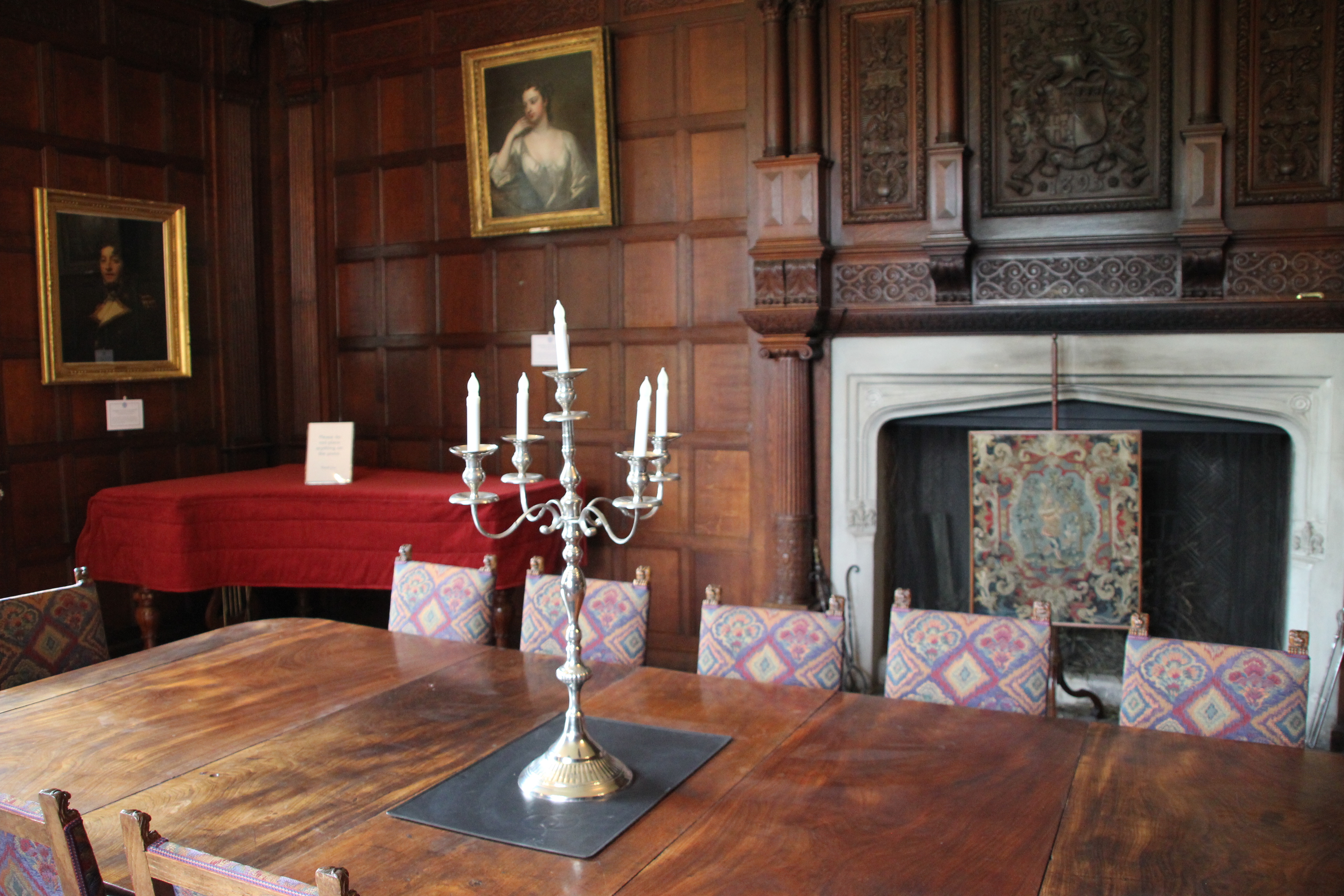 Chawton House interior Wibke Carter