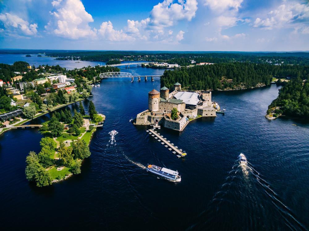 castle in Savonlinna Finland