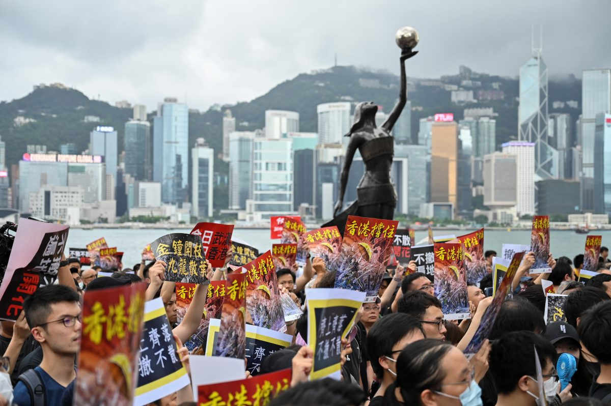 -HONG KONG-CHINA- protest