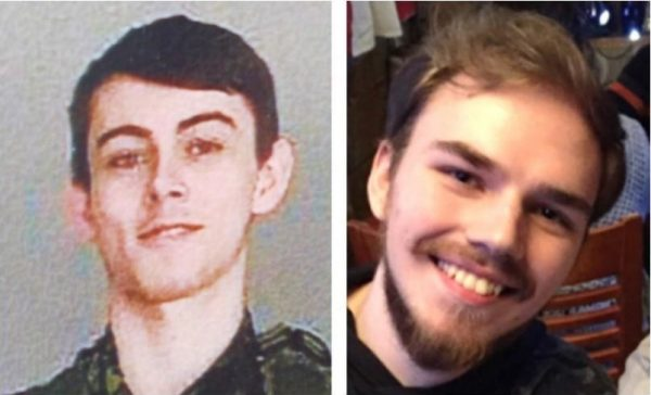 Bryer Schmegelsky, left, and Kam McLeod are seen in this undated combination handout photo provided by the RCMP. RCMP say two British Columbia teenagers who were first thought to be missing are now considered suspects in the deaths of three people in northern B.C. (HO, RCMP/The Canadian Press)