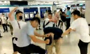 Governments and Rights Groups Condemn Violent Attack in Hong Kong Metro Station