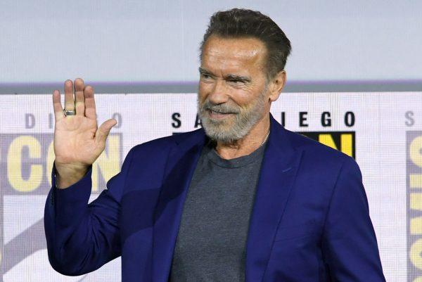 Arnold Schwarzenegger Comic Con 2019