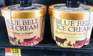 Texas Police Share Solution for Blue Bell Ice Cream Licking Problem
