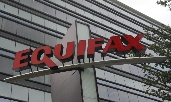 Signage at the corporate headquarters of Equifax Inc., in Atlanta. (Mike Stewart/AP File Photo)
