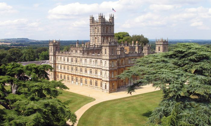 Highclere Castle lies 23 miles north from Winchester. (Highclere Castle)