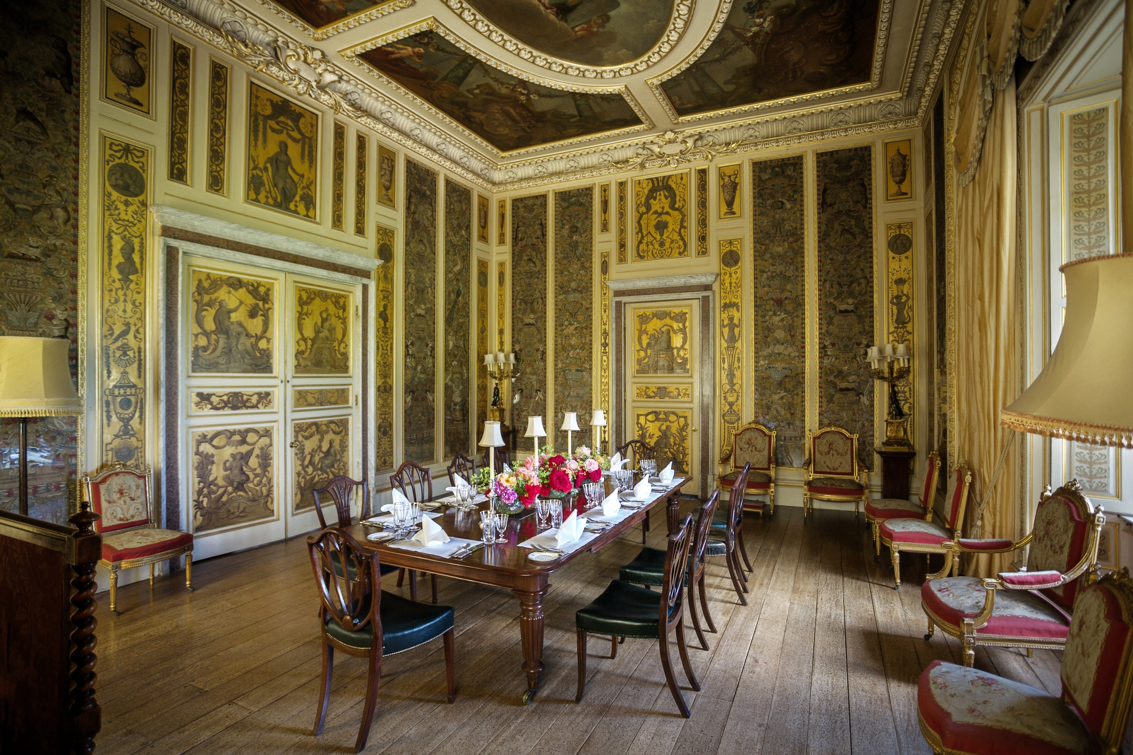 Highclere Castle Music Room