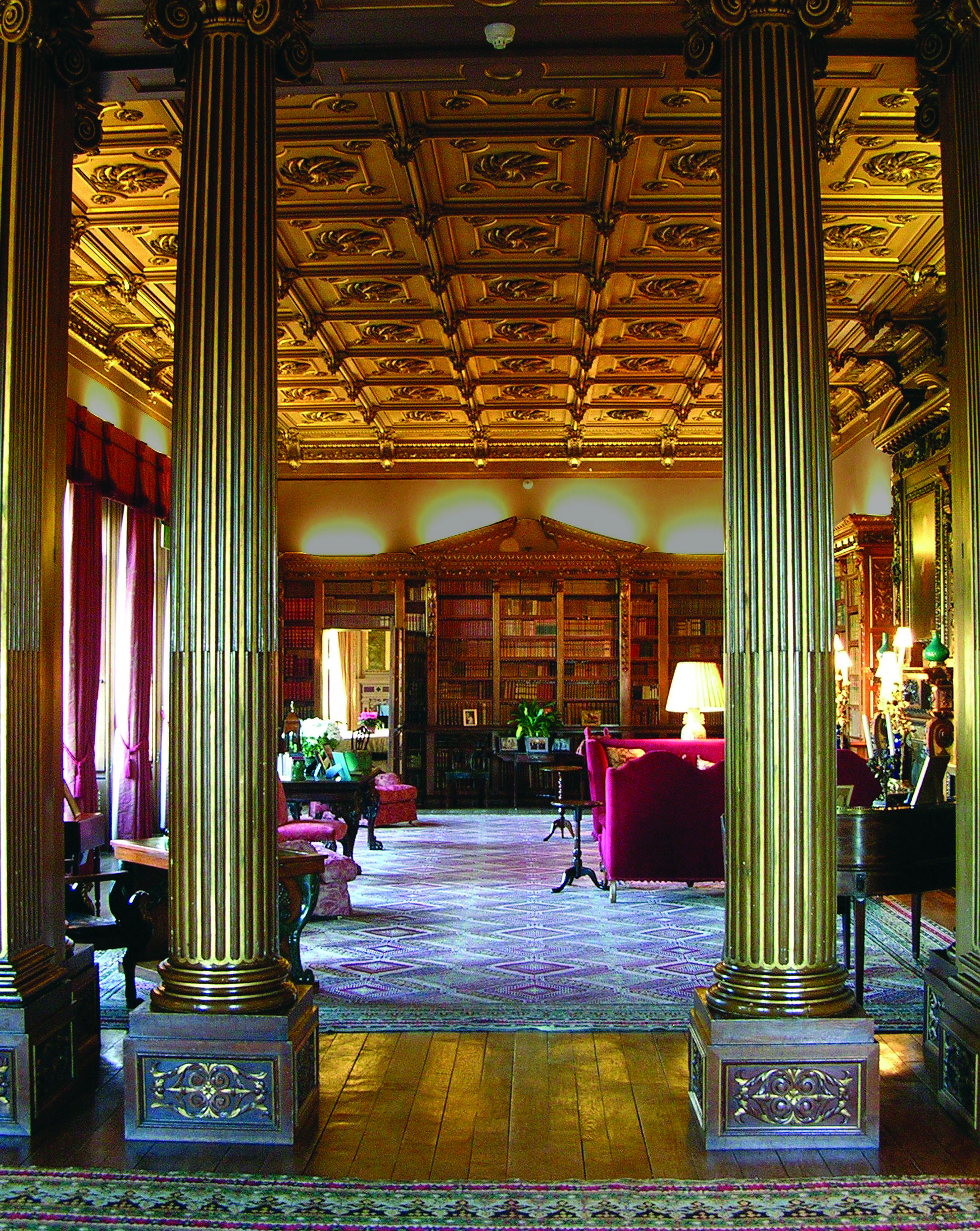 Highclere Castle NorthLibrary