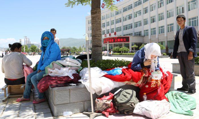 A hospital in Gansu Province, China. (STR/AFP/Getty Images)